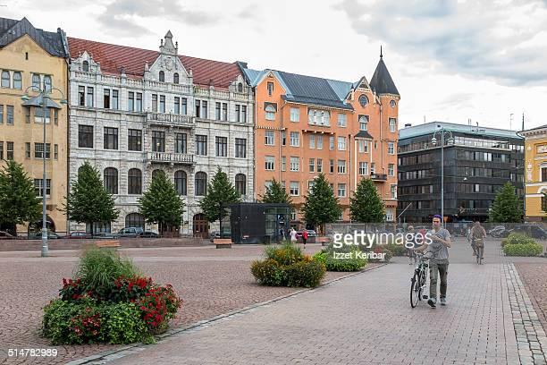 Helsinki center views