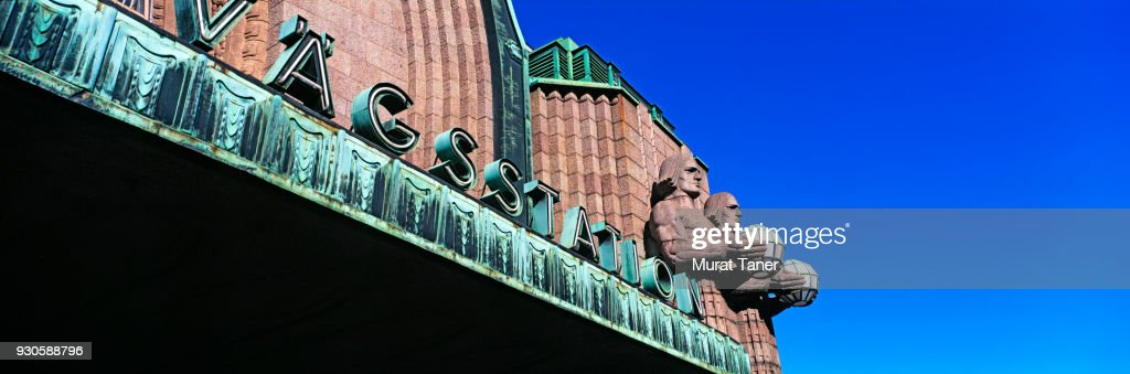 Helsinki Central Station building : Stock Photo
