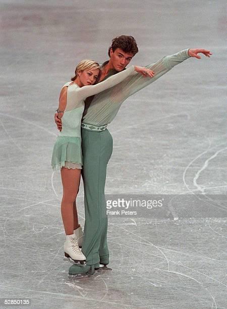 WM 1999 Helsinki Elena BEREZHNAYA/RUS Anton SIKHARULIDZE/RUS PAAR PAARE GOLD
