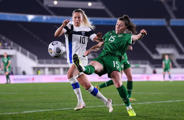FIN: Finland v Ireland: Group A - FIFA Women's WorldCup 2023 Qualifier