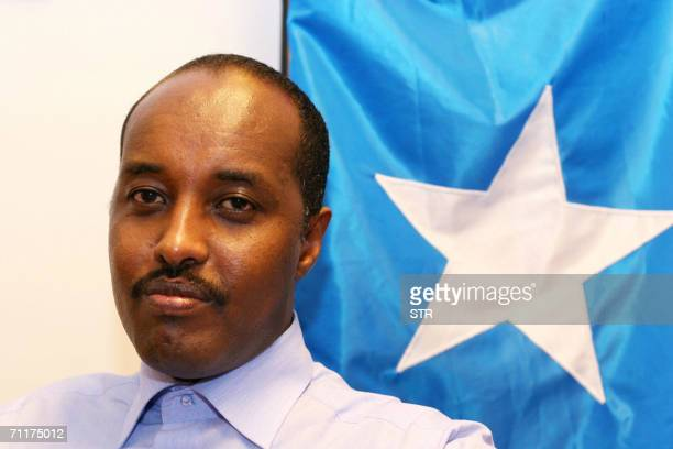 Finnish Somali Abdirizak Hassan Mohamed president of the Finnish Somali association is pictured in Helsinki 09 June 2006 He escaped the anarchic Horn...