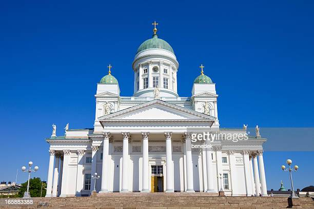 helsinki, finland - cathedral stock pictures, royalty-free photos & images