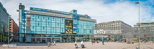 Helsinki Kamppi Narinkka Square shopping centre bus station panorama Finland