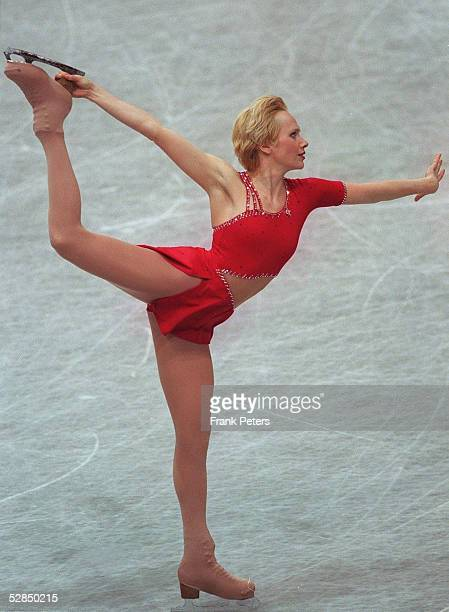 WM 1999 Helsinki Maria BUTYRSKAYA/RUS KURZPROGRAMM FRAUEN GOLD