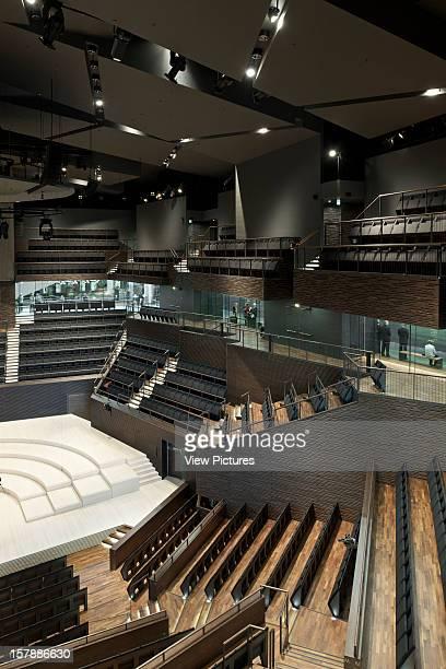 Helsinki Music Center Helsinki Finland Lpr Arkkitehdit Interior View Of Concert Hall Lpr Arkkitehdit Finland Architect