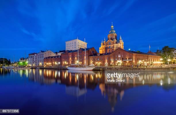 Helsinki -  Uspenski Cathedral Twilight