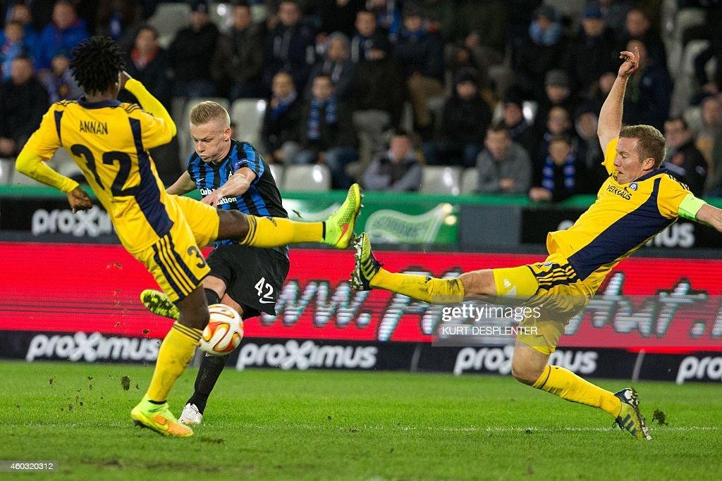 Club Brugge KV v HJK Helsinki - UEFA Europa League