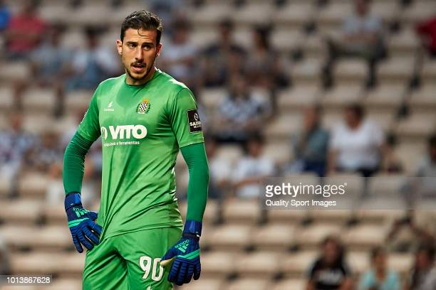Helton Leite of Boavista CF looks on during the Preseason friendly match between Boavista FC and Getafe CF at Estadio do Bessa XXI on August 3 2018...