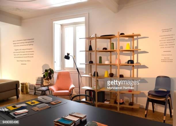 Hem studio Collection at Brera Design District. Milan, April 16th 2018