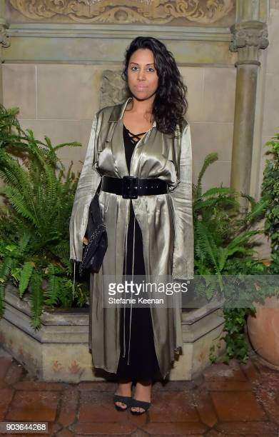 Hema Persad attends Vanity Fair And Focus Features Celebrate The Film 'Phantom Thread' with Paul Thomas Anderson at the Chateau Marmont on January 10...