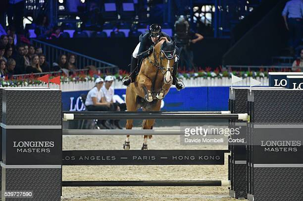 Hemeryck Rik Carlitto van't Zorgvliet durin the Longines Grand Prix CSI5* Paris 2015