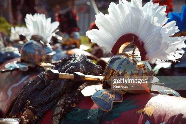 hemlet - gladiateur photos et images de collection