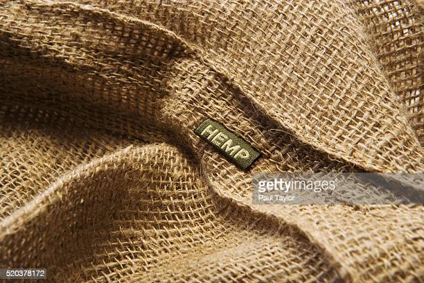 hemp fabric - 繊維 大麻 ストックフォトと画像