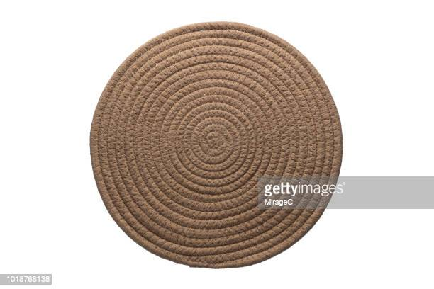 hemp mat - rug stock pictures, royalty-free photos & images