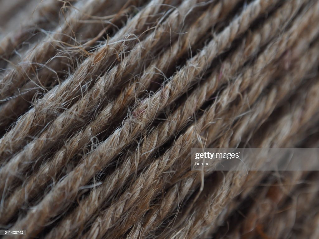 Hemp Rope Texture Background High Res Stock Photo Getty Images
