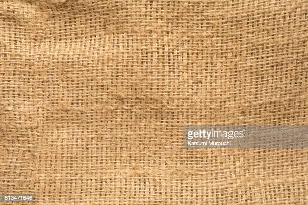 Hemp sack texture background