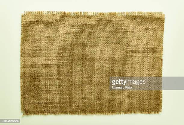hemp table cloth. abstract image. - hemp stock pictures, royalty-free photos & images