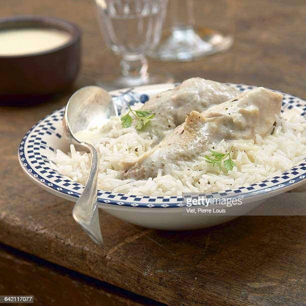 hen with rice - vorbeigehen stock pictures, royalty-free photos & images