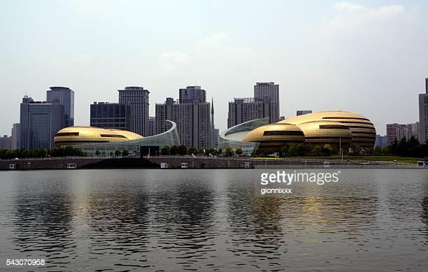 河南アートセンター、鄭州、中国 - 鄭州市 ストックフォトと画像
