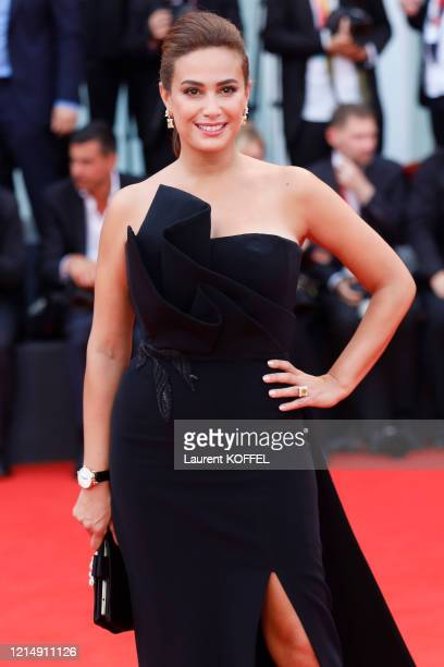 Hend Sabry walks the red carpet ahead of the closing ceremony of the 76th Venice Film Festival at Sala Grande on September 07 2019 in Venice Italy
