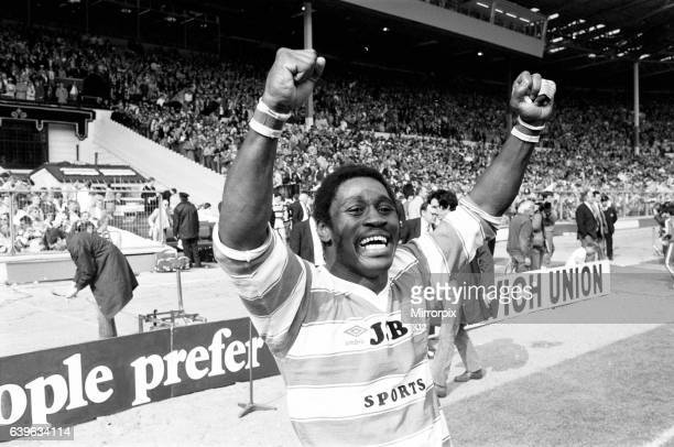 Henderson Gill, Wigan 28-24 Hull, Rugby League, Challenge Cup Final, Wembley Stadium, London, Saturday 4th May 1985.