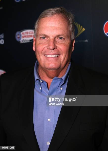 Hendrick Motorsports president Rick Hendrick arrives at The Pepsi 500 Auto Club Speedway Celebration held at the Roosevelt Hotel on October 7 2009 in...