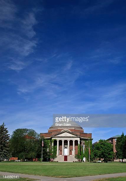hendricks chapel on quad syracuse university - syracuse new york stock pictures, royalty-free photos & images
