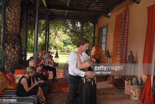 Hendrik Duryn , TV-Ehefrau Petra Berndt , Carin C.Tietze , Muriel Baumeister , daneben re. Deren TV-Ehemann Peter Sattmann, sein TV-Sohn Oliver Bootz...