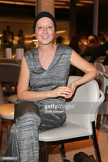 Hendrikje Fitz during the ARD advent dinner hosted by the program director of the tv station Erstes Deutsches Fernsehen at Hotel Bayerischer Hof on...