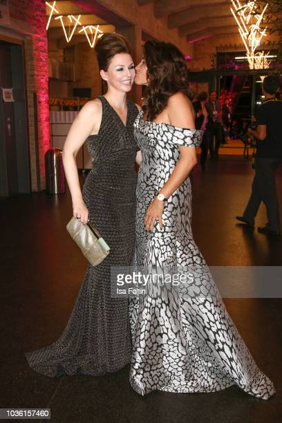 Hendrikje Kopp and Alice Roessler attend the Dreamball 2018 at WECC Westhafen Event Convention Center on September 19 2018 in Berlin Germany