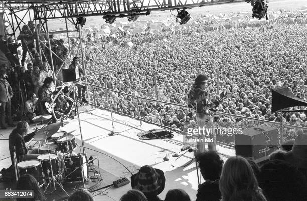 Hendrix, Jimi - Musician, Rock music, USA - 'Love and Peace Festival' in Fehmarn/Germany