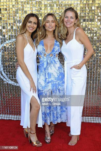 Hengi Hawk Zulay Henao and Julie Skon host the Modern Muse Collective Launch held at Calamigos Guest Ranch on August 11 2019 in Malibu California