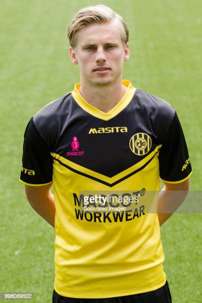 Henk Dijhuizen of Roda JC during the Photocall Roda JC at the Parkstad Limburg Stadium on July 12 2018 in Kerkrade Netherlands