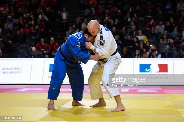 Henk GROL of Netherlands fights against Kokoro KAGEURA of Japan during the Paris Grand Slam on February 9 2020 in Paris France