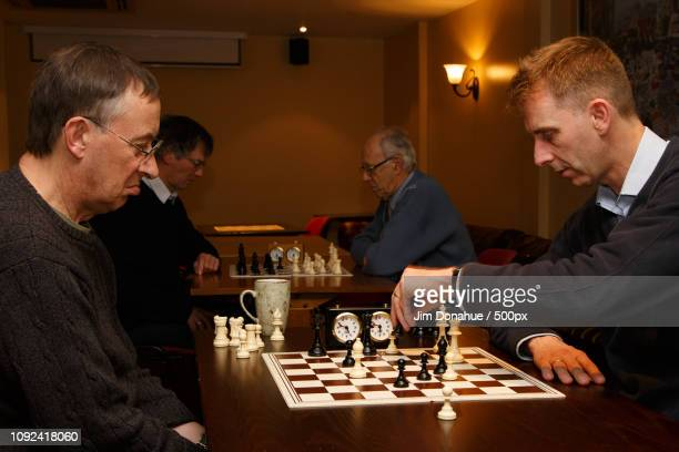 henley chess club - jim donahue stock pictures, royalty-free photos & images