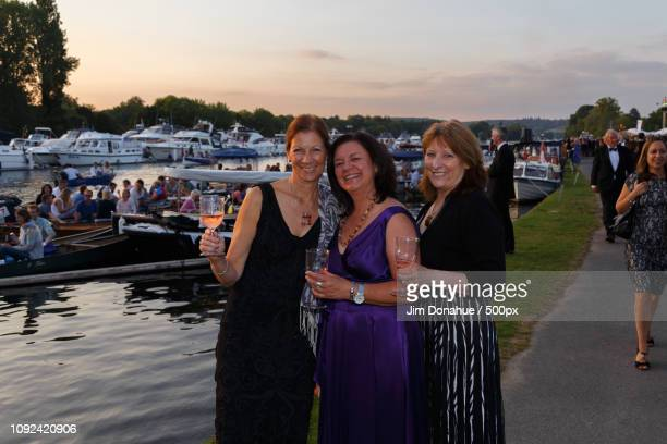 henley festival with a rose wine - jim donahue stock pictures, royalty-free photos & images