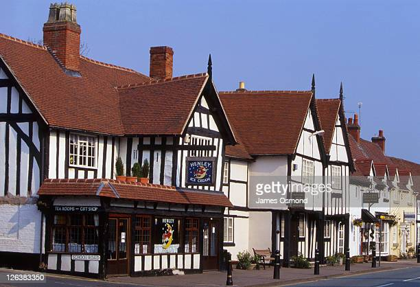 Henley Ice Cream, a famous 16th Century Ice Cream Parlour and Tea Rooms in the town of Henley-in-Arden in Warwickshire.