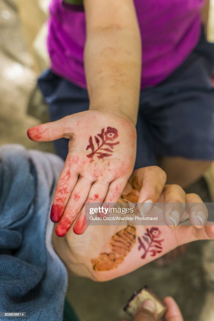 Henna decoration : Stock-Foto