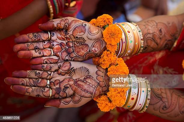 Henna in Rajasthan.