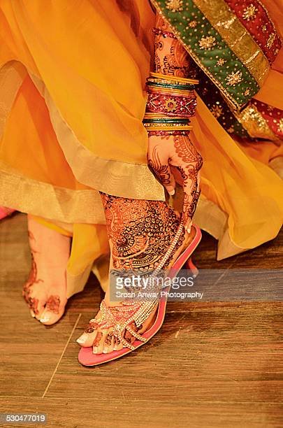 henna on feet - embellishment stock pictures, royalty-free photos & images