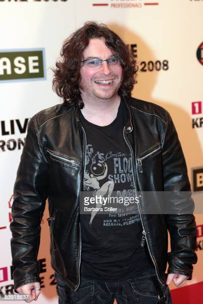Hennes Bender attends the ''1Live Krone'' awards on December 4 2008 in Bochum Germany