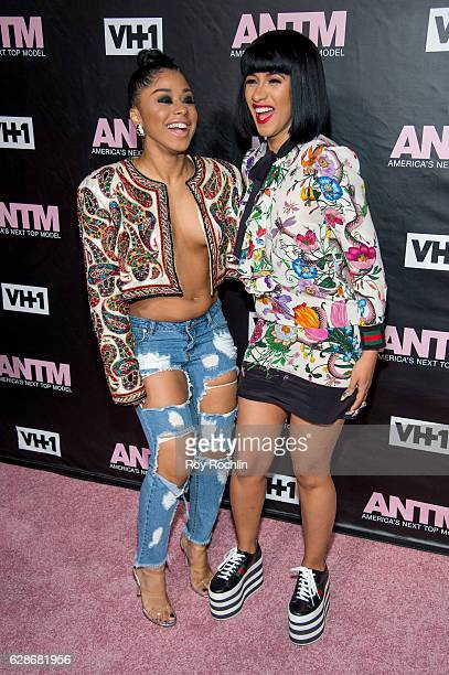 Hennessy and Recording artist Cardi B attend VH1's 'America's Next Top Model' Premiere at Vandal on December 8 2016 in New York City