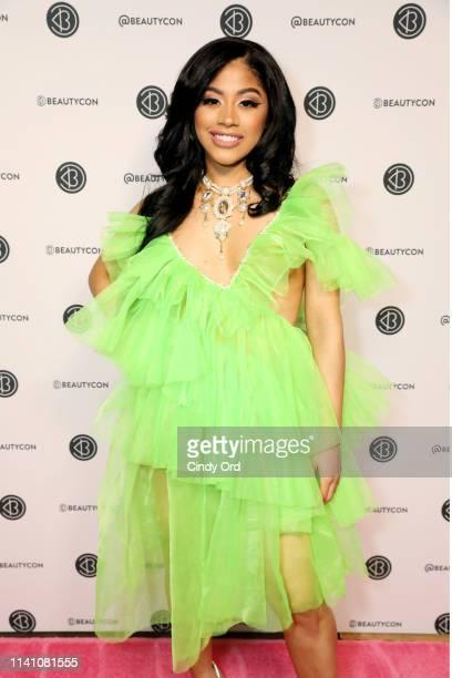 Hennessy Carolina attends Beautycon Festival New York 2019 at Jacob Javits Center on April 07 2019 in New York City