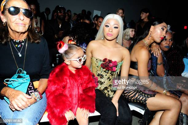 Hennessy Carolina attends Disney Villains x The Blonds NYFW Show during New York Fashion Week The Shows at Gallery I at Spring Studios on September 7...