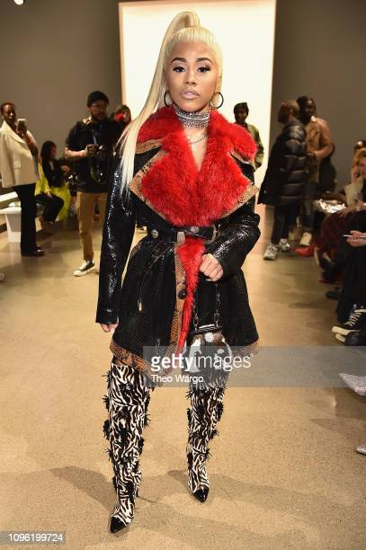 Hennessy Carolina attends the Kim Shui front row during New York Fashion Week The Shows at Gallery II at Spring Studios on February 8 2019 in New...