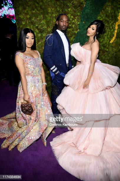Hennessy Carolina Offset and Cardi B attend Rihanna's 5th Annual Diamond Ball Benefitting The Clara Lionel Foundation at Cipriani Wall Street on...