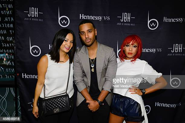 Hennessy West Coast Marketing Manager ThuyAnh J Nguyen Brandon Williams and Calyann Barnett attend Hennessy VS Presents Brandon Williams' Simple is...