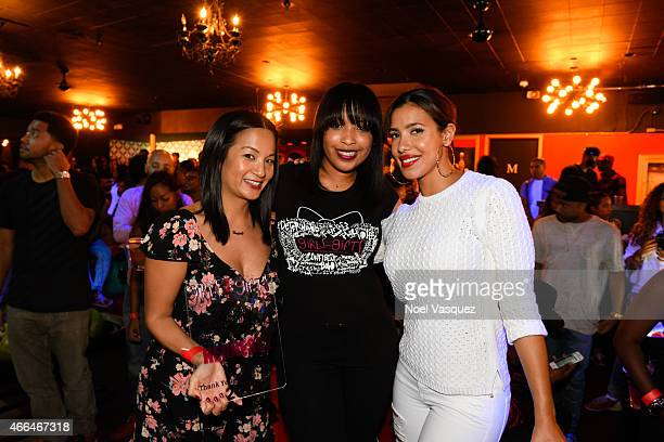 Hennessy West Coast Marketing Manager ThuyAnh J Nguyen Girls With Gifts Founder Antoinetta Hairston and Julissa Bermudez attend the 3rd annual Girls...