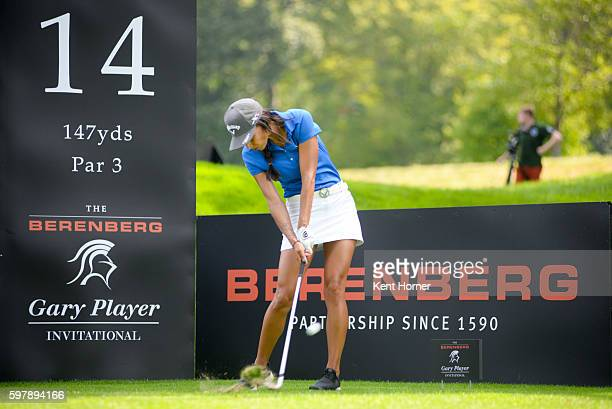 Henni Zuel during the The Berenberg Gary Player Invitational 2016 New York at GlenArbor Golf Club on August 29 2016 in Bedford Hills New York