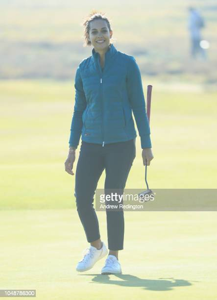 Henni Zuel in action during the Hero Pro Am prior to the start of the British Masters supported by Sky Sports at Walton Heath Golf Club on October 10...